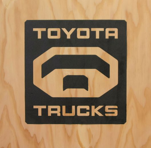 where to get quottoyota trucksquot logo gear toyota nation