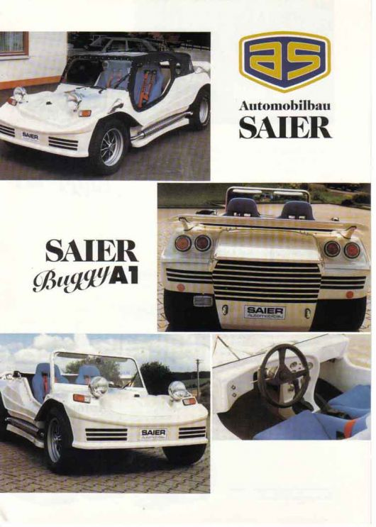 as saier buggy a1 brochure