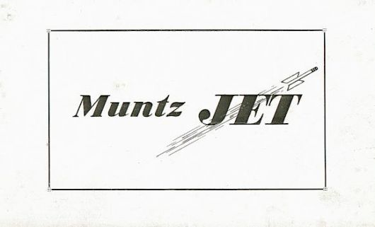 muntz jet catalog cover 50
