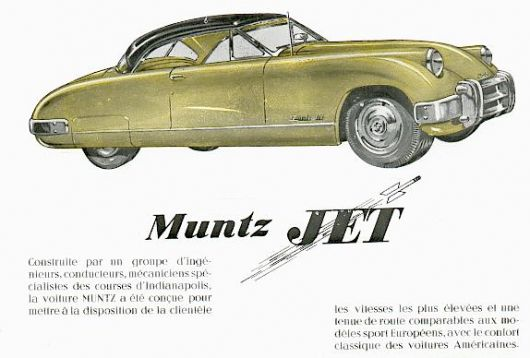 muntz jet catalog in 50