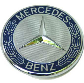 Mercedes benz for Mercedes benz bonnet badge
