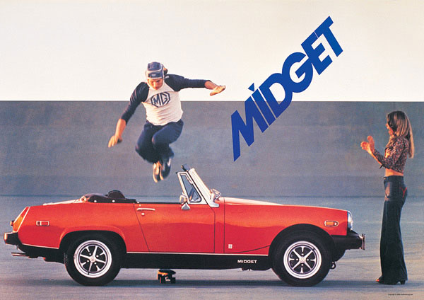 Are mg midget poster intelligible message