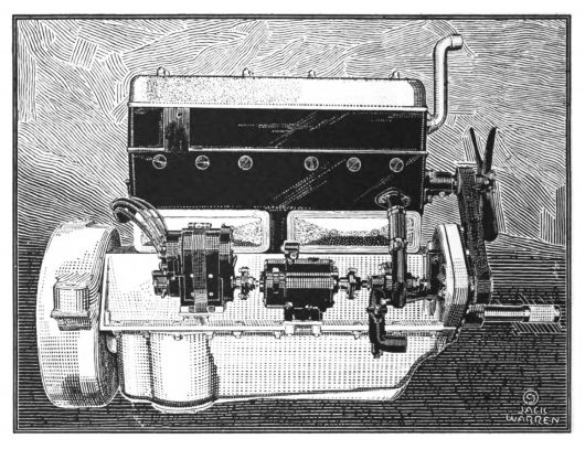 mercer six cylinder 22