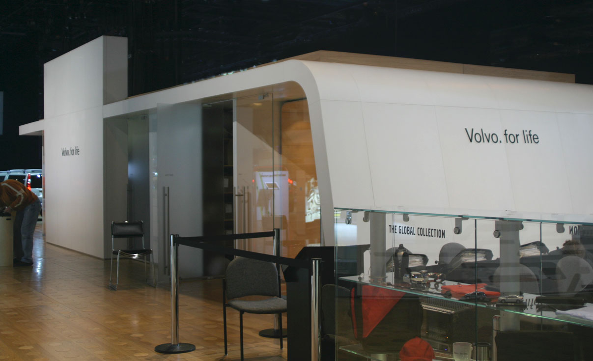 Volvo exhibit from the 2002