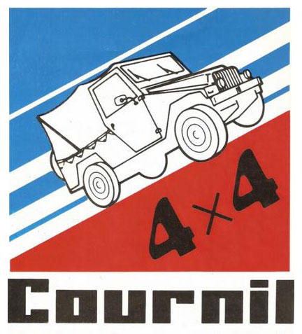 4x4 cournil logo