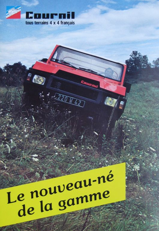 cournil 4x4 brochure
