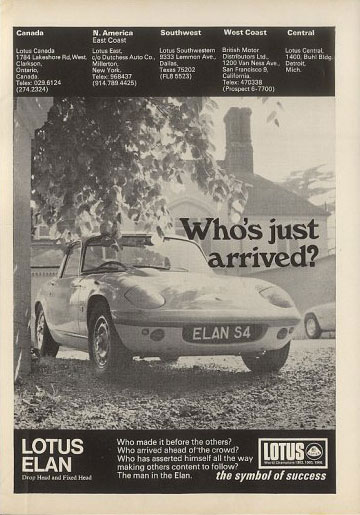lotus elan coupe 70