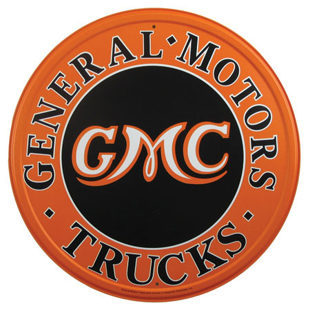 gmc dealer sign