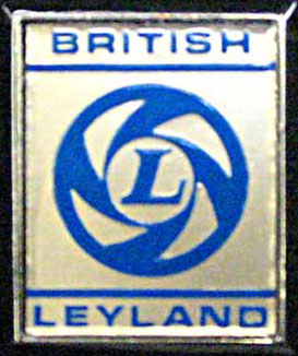 british leyland badge