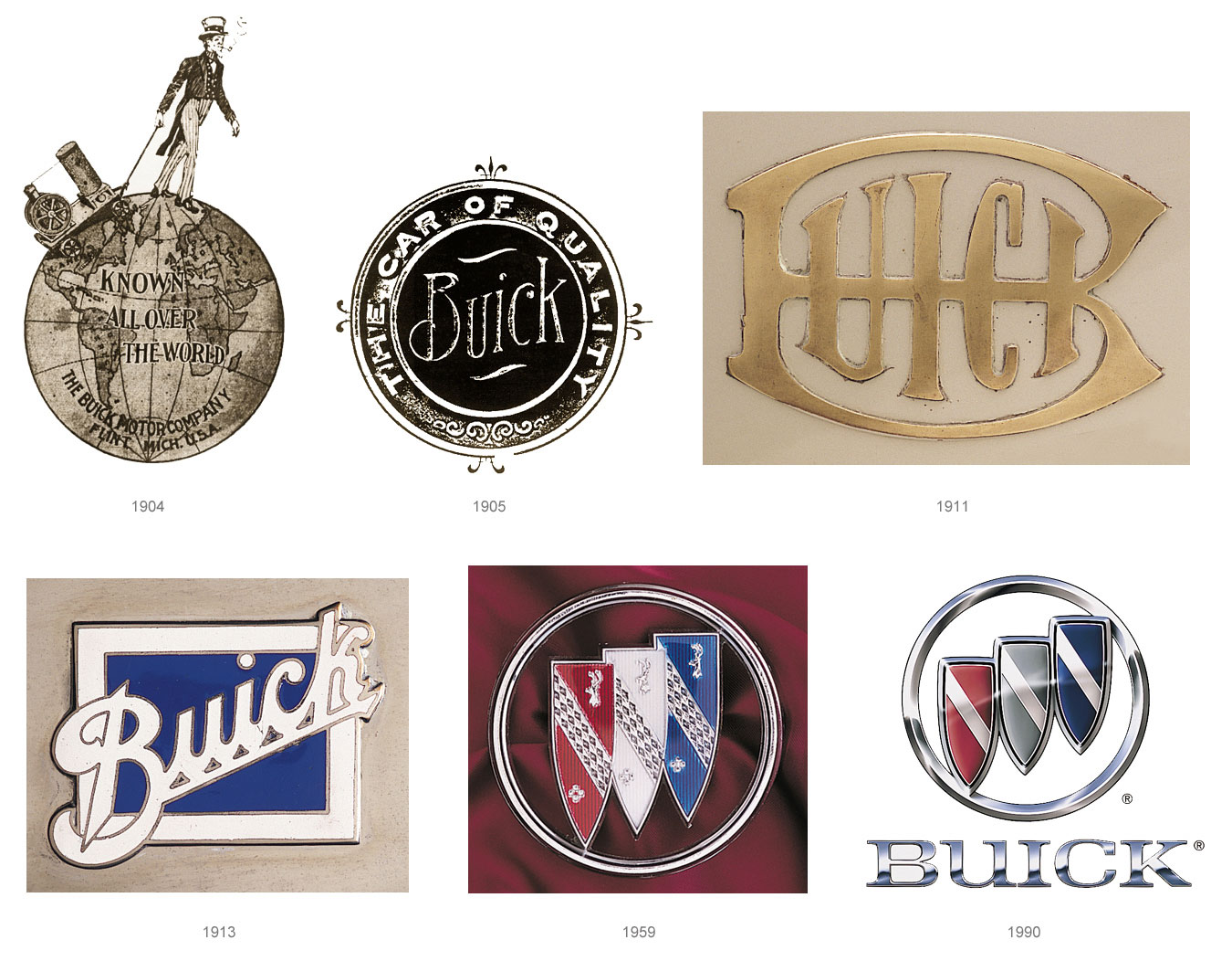 Old Buick Logo 45
