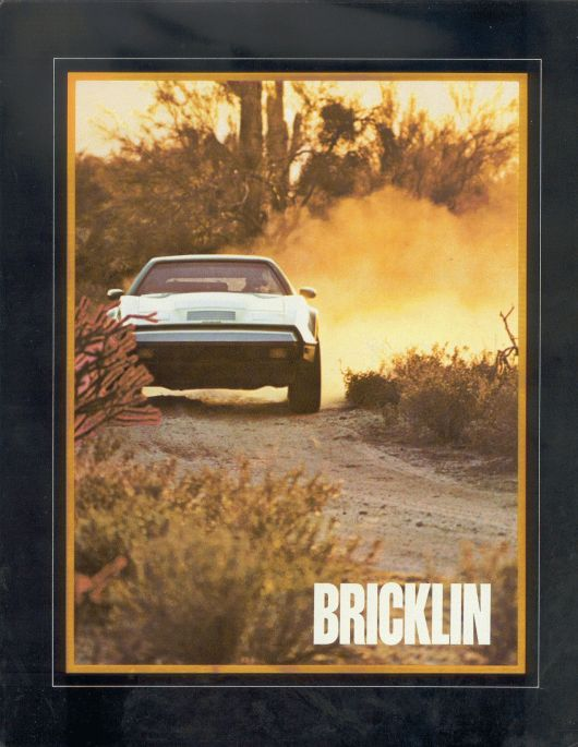 bricklin sv1 brochure