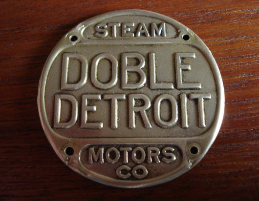doble detroit radiator emblem 17
