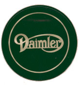 daimler d license holder