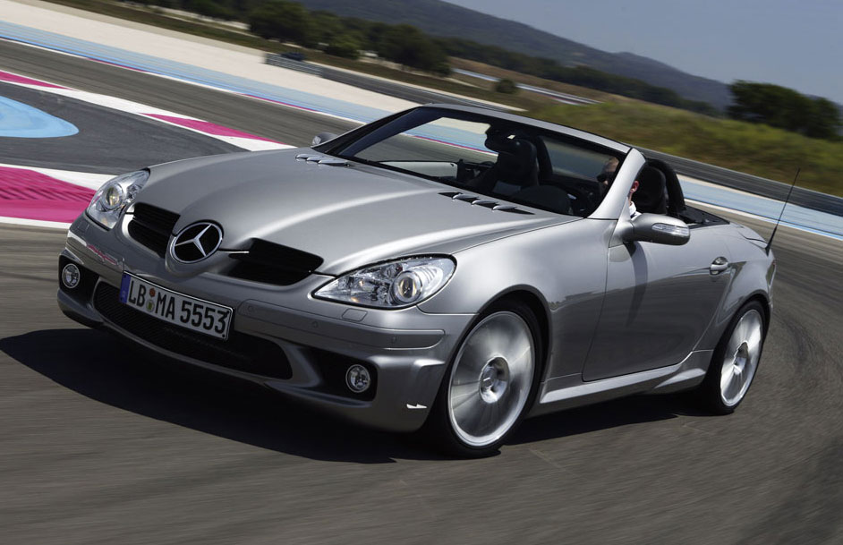 2007 Mercedes-Benz SLK 55 AMG. 355hp. I've always been on the fence with