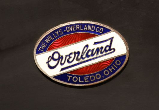 willys overland model 69 touring emblem 13