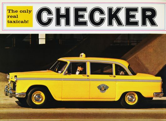 checker cab ad 66