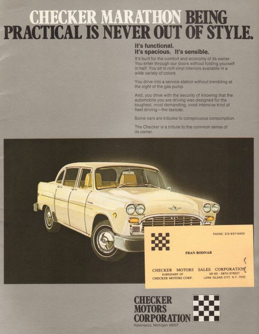 checker marathon brochure 80