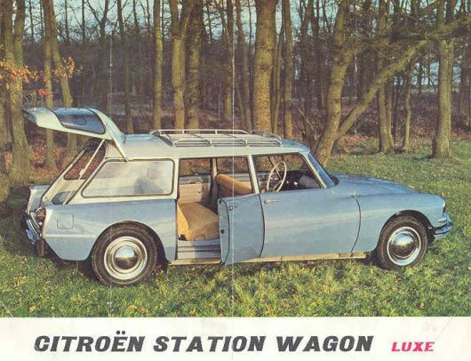 citroen station wagon brochure 64
