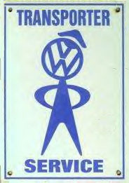 vw bubblehead sign