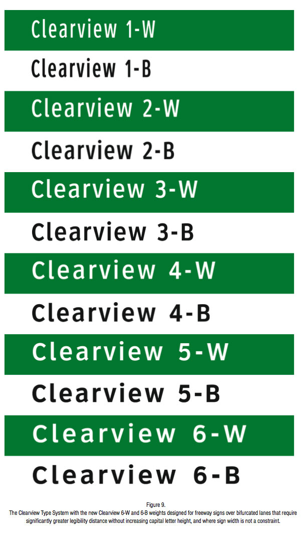 Clearview type system.