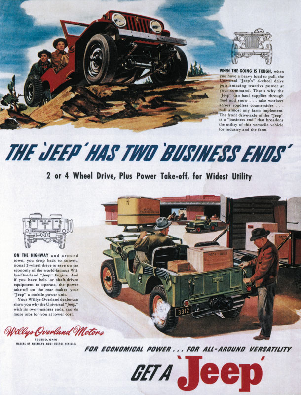 Willys Jeep Truck Value