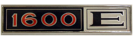 ford capri 1600e boot badge