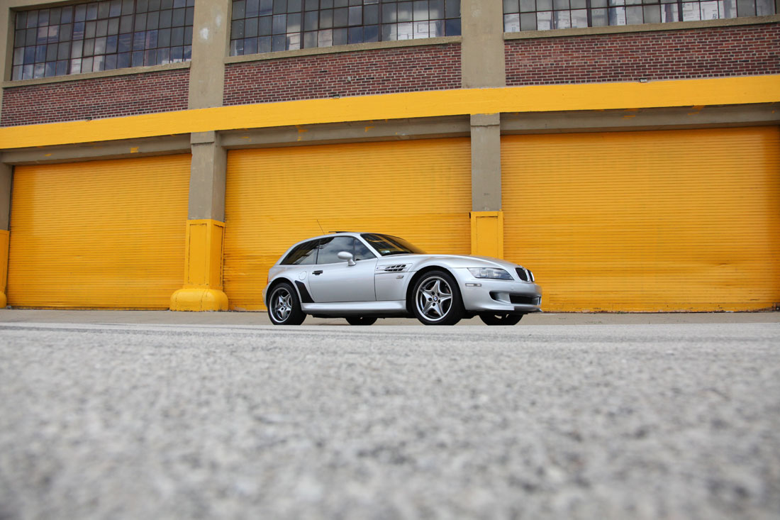 2001 BMW M-Coupe.