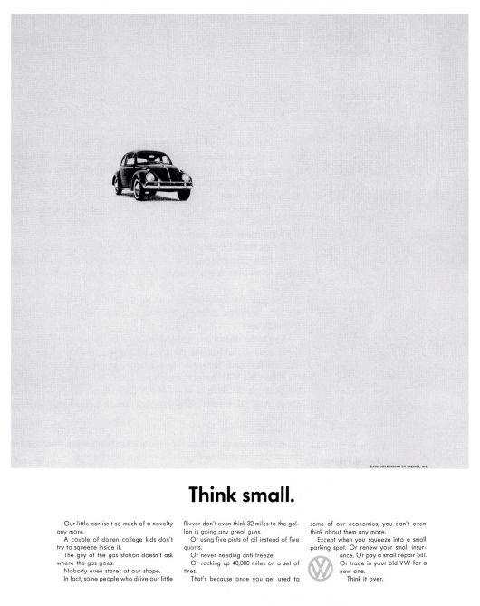 vw beetle think small ad 59