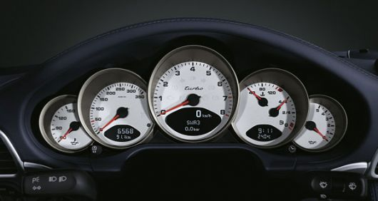 porsche 911 997 turbo speedo