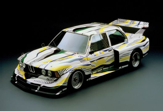 1977 bmw 320i group 5 by roy lichtenstein 1