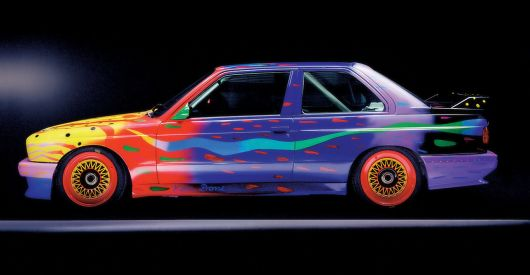 1989 bmw m3 raceversion art car by ken done 1