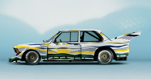 roy lichtenstein bmw 320i group 5 racing version 77