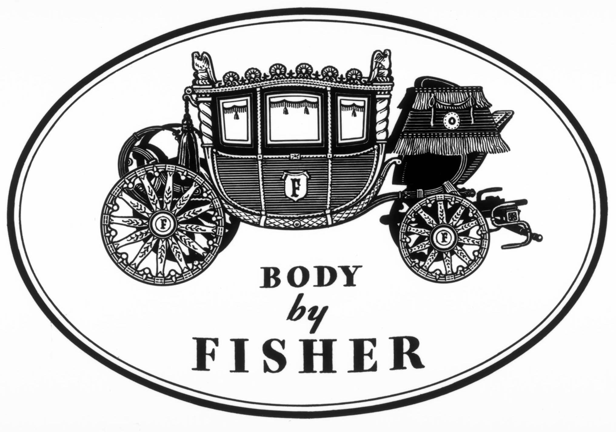 Body By Fisher Cartype 1955 Buick Electra 225 Convertible Logo 30s