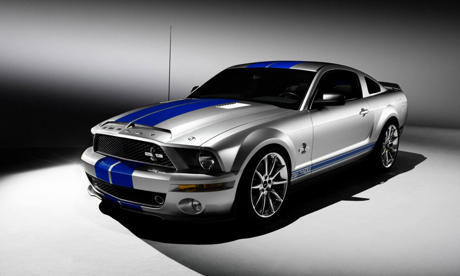 ford cobra mustang gt500kr shelby 2008 cartype 1968 both