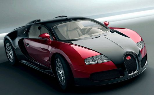 bugatti veyron front red