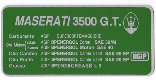 3500gt lubrication 122x61mm