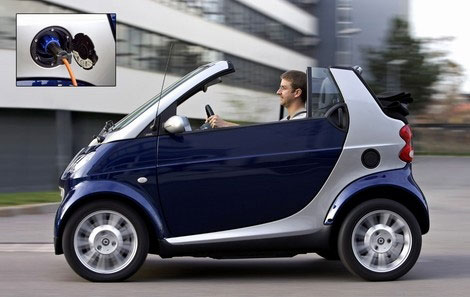 smart fortwo electric side