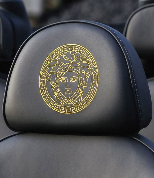 mini versace headrest