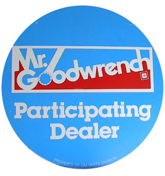 goodwrench dealersign