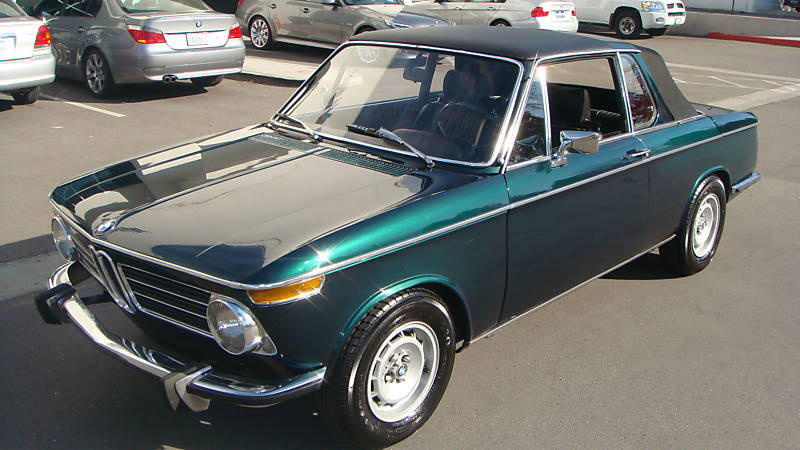 Types Of Vehicles And Systems Functioning Bmw 2002 Targa 1975