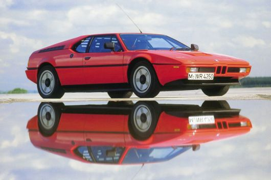 bmw m1 frontside