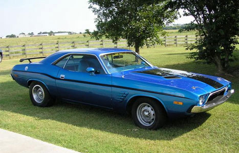 Dodge Challenger 1973 Cartype