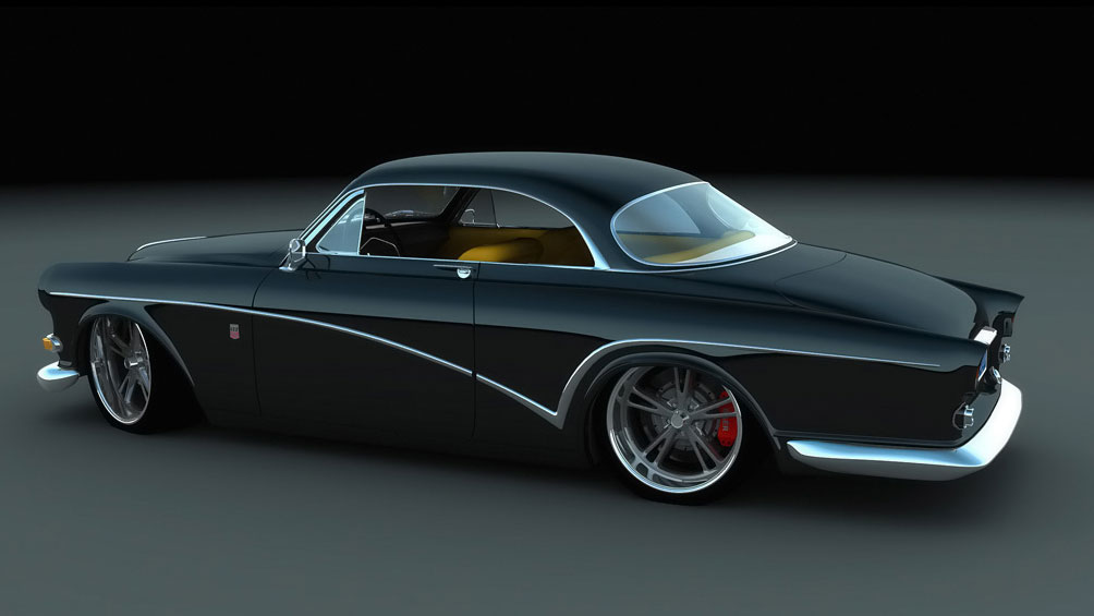 Volvo Amazon Custom Coupe 1966 Cartype