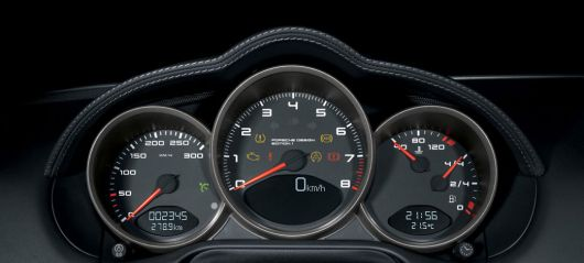 porsche designedition1 caymans tach