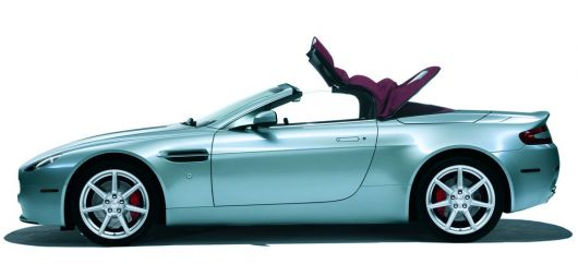 aston martin vantage roadster side2