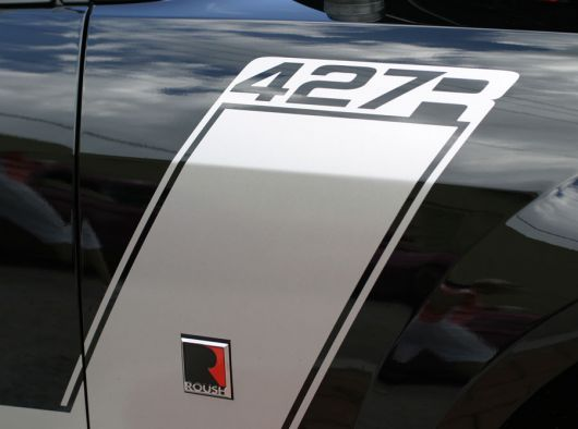 427r decal emblem ford roush mustang 427r 07 sm