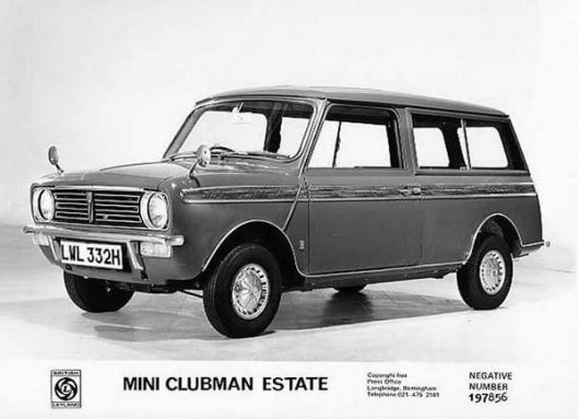 clubman estate old