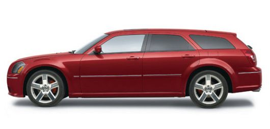dodge magnum srt 8 side