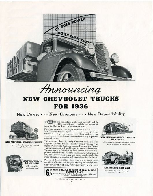 chevy trucks ad 36