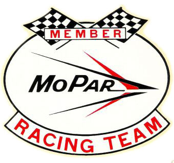 Racing Magneto  Auto on 1966 Member Mopar Racing Team Decal